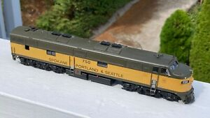 SP&S E-7A #750 - Brass Import by Overland Models / Ajin - Spectacular and Rare