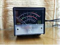 Black External S meter SWR Power meter for Yaesu FT-857/FT-897