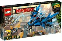 LEGO The LEGO Ninjago Movie Lightning Jet 2017 (70614) Building Kit 876 Pcs