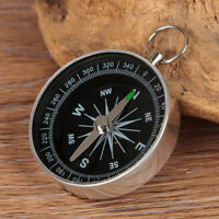 POCKET COMPASS HIKING SCOUTS CAMPING WALKING SURVIVAL AID GUIDES U7P6