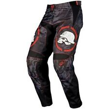 NOS MSR 334156 M12 METAL MULISHA SCOPE PANTS BLACK RED SIZE MENS 28