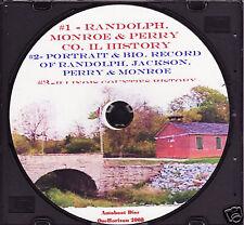 Randolph, Monroe & Perry Counties Illinois History + +