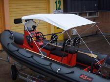 NEW BIMINI TOP Folding Sun Rain Cover Boat Rib Inflatable Width 180-200 cm 3450