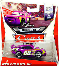 DISNEY CARS PISTON CUP N20 COLA NO. 68 *NEW*