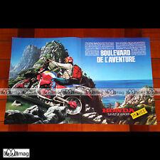 PUB HONDA XLV 750 R (XLV750R 750R) - Original Advert / Publicité Moto 1984