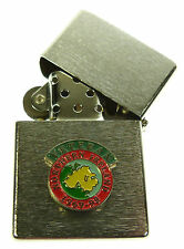 NORTHERN IRELAND VETERANS REGIMENTAL SCROLL  WINDPROOF CHROME PLATED LIGHTER