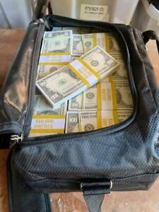 Prop Novelty Money Filler Packs 100 x $10K ($1M) Solid Blocks.Single Sided