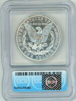 1895-O MORGAN SILVER DOLLAR CERTIFIED ICG AU58 ALMOST UNCIRCULATED GREAT LUSTER