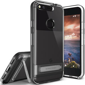 For Google Pixel/XL Case VRS®️[Crystal Bumper] Clear Slim Bumper Kickstand Cover