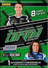 2017 Torque Racing sealed Blaster box 8 NASCAR cards 1 auto or memorabilia
