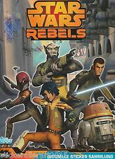 Topps Star Wars Rebels Sticker 2015 Serie 1 komplett . Satz + Leeralbum