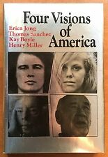 Four Visions of America by E Jong, T Sanchez, K Boyle, H Miller  Signed by all 4