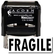 MaxStamp - Self-Inking Fragile Stamp (Black Ink)