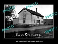 OLD LARGE HISTORIC PHOTO OF AVON CONNECTICUT, VIEW OF THE CREAMERY Co c1920