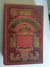 Livre illustré Jules VERNE Aventures du capitaine Hatteras VOYAGES EXTRAORDINAIR