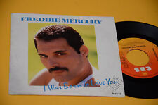 "FREDDIE MERCURY QUEEN 7"" I WAS BORN..ORIG HOLLAND PROMO EX"