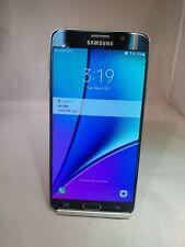 Samsung Galaxy Note 5 32GB Black Sapphire Verizon Unlocked Good Condition