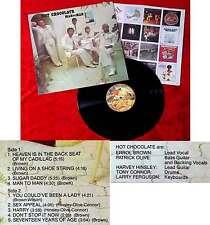 LP Hot Chocolate: Man to Man (Big Tree BT 89519) US 1976