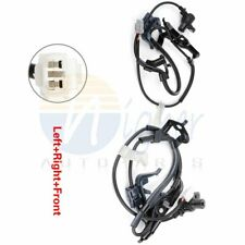 Pair Front ABS Sensor Driver & Passenger Performance Fits Toyota Sienna 04-10