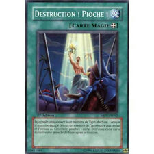 A624 ABPF-FR052 Destruction ! Pioche ! Puissance Absolue Carte Yugioh