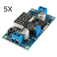 5Pcs LM2596 DC-DC Voltage Regulator Adjustable Step Down Power Supply Module Wit
