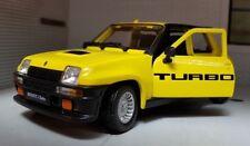 Renault 5 Turbo Año Fabricación 1982 azul/ rojo 1 24 Bburago