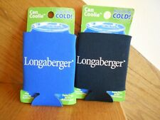 Longaberger Can Coolie set of 2 also keeps bottles cold new *shipping included!*