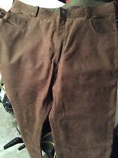 pantaloni pelle seminuovi