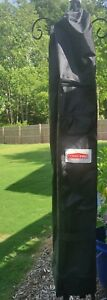 CoverPRO replacement pop-up canopy travel COVER ONLY black fits 10' X 10' wheels