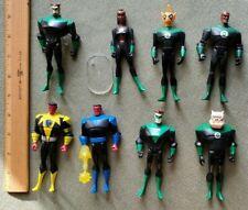 "Justice League Unlimited 4.5"" - Green Lantern - 8 Figures - Sinestro Tomar Katma"