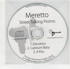(GW608) Meretto, Devotion - 2009 DJ CD