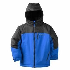 NWT Boys size M (10/12) Columbia Outgrown Phantom Slope Jacket Blue/Black