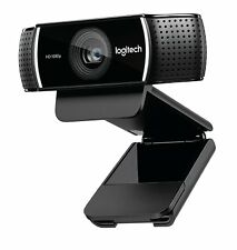 Logitech 1080p Pro Stream Webcam for HD Video Streaming and Recording at 1080p