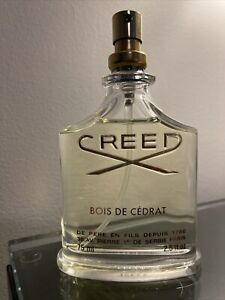 Bois de Cedrat by Creed for Unisex 2.5 oz EDT Spray Brand New No Cap
