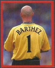 FUTERA-MANCHESTER UNITED-EUROPE-2001- #031-FABIEN BARTHEZ-NAME & NUMBER ON SHIRT