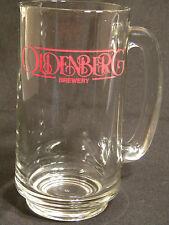 OLDENBERG BREWERY Beer Mug Heavyweight Collector GLASS Fort Mitchell Kentucky