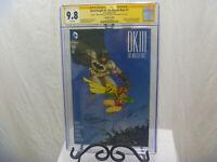 Dark Knight 3 The Master Race #1 CGC SS 9.8 Frank Miller Comic Con Box Variant