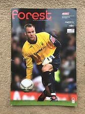 Nottingham Forest v Blackpool - Coca~Cola League 1 2006/07 Programme