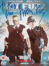 SIMON PEGG & NICK FROST Signed 10x7 Photo HOT FUZZ COA