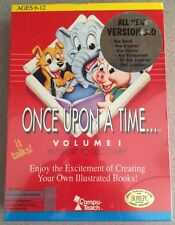 """Compu-Teach Once Upon a Time...Volume 1 """"Passport To Discovery"""" (Apple II & MAC)"""