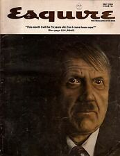 1965 Esquire May - Nazi Come home; Alamogordo NM; Pontiac GTO;Smokers & Quitters
