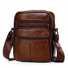Men's Leather Crossbody Messenger Bag Male Small Man Flap Fashion Shoulder Bags