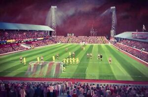 Sunderland - Roker Park From The Fullwell End -  A3 print