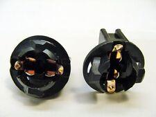 2 Fits Toyota Instrument Panel Cluster Light Bulb Lamp Dashboard Sockets 168 NOS
