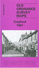 Old Ordnance Survey Map Crayford 1907