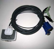 Iogear ® Gcs632U Two 2 Port Kvm Vga Usb Switch Box Cable - New