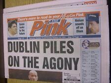 15/10/1994 COVENTRY evening Telegraph il rosa: principali titolo recita: Dublino Pile