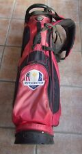 Burton Ryder Cup 2012 Stand Up Golf Bag Used Condition Red & Black