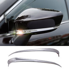 FIT FOR MAZDA 6 ATENZA 14- CHROME DOOR SIDE REAR VIEW MIRROR TRIM COVER MOLDING