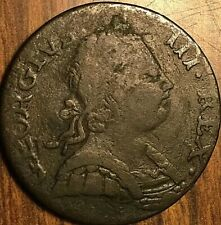 1773 GREAT BRITAIN GEORGE III HALF PENNY COIN